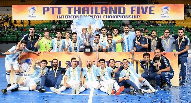 Argentina, campeón de la International Cup Tailandia 2017