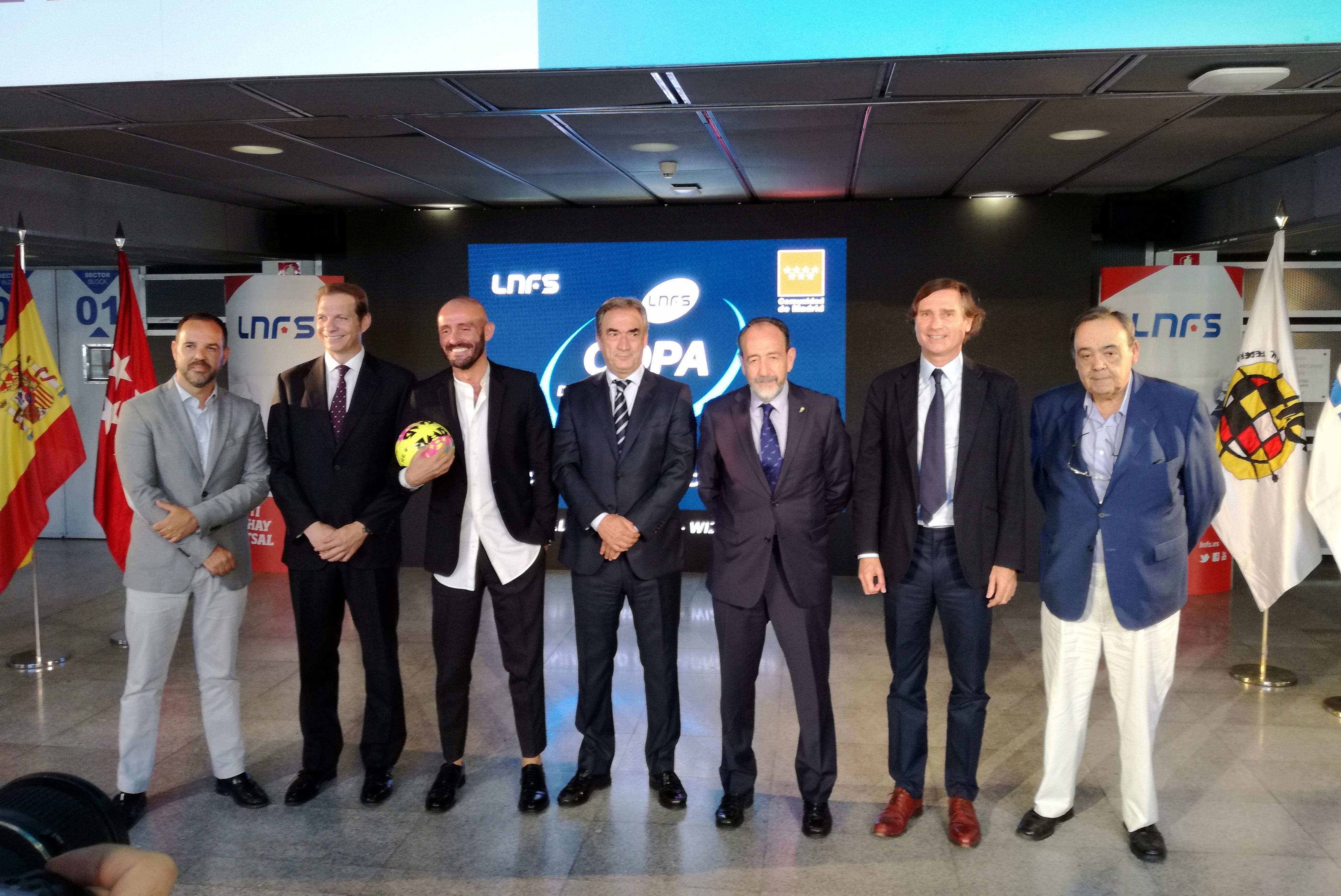 Presentada oficialmente la Copa de España 2018