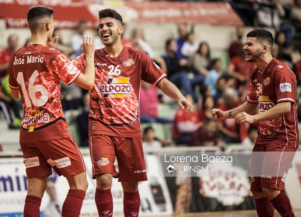 Sólida victoria de ElPozo Murcia ante el Catgas