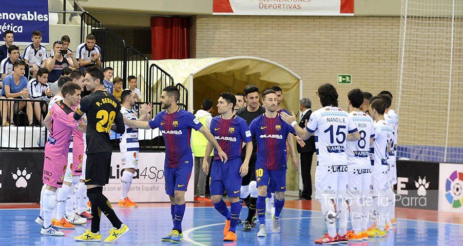 Fotogalería del Rios Renovables Vs FC Barcelona