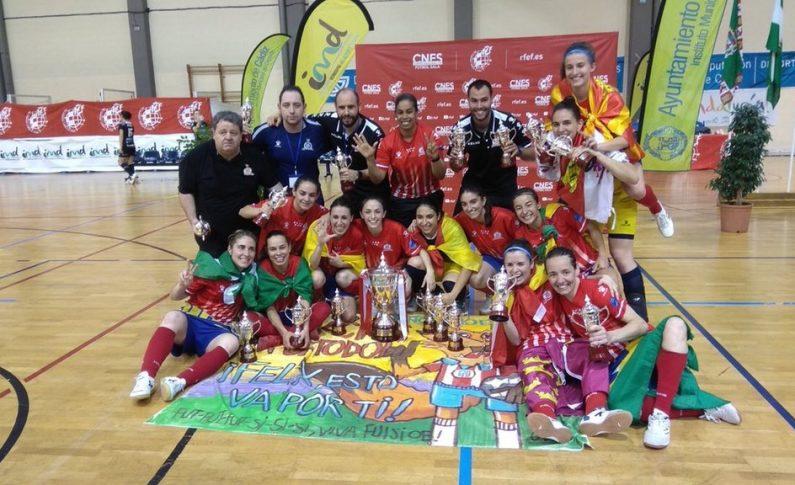 Futsi Atlético Navalcarnero gana su séptima Copa de España en Cádiz