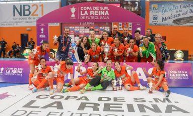 Loor y gloria al futsal femenino, Burela es campeón de la Copa