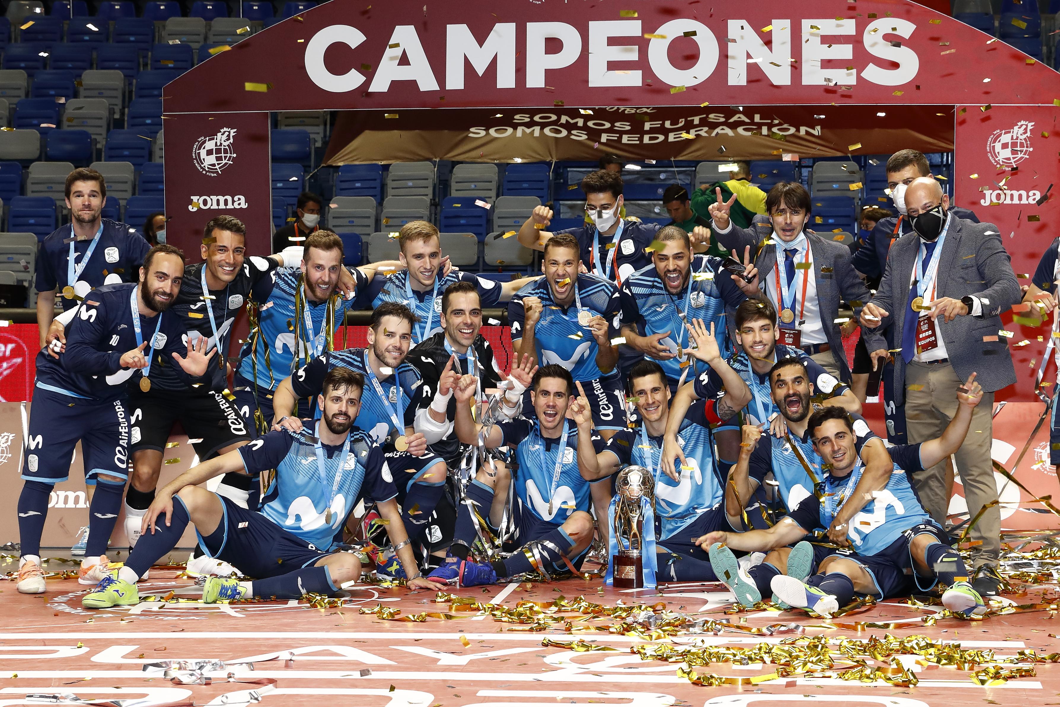 Movistar Inter, campeón de Liga 19/20