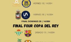 Emparejamientos Final Four Copa del Rey y Copa de la Reina