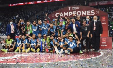 Movistar Inter, campeón de la Supercopa