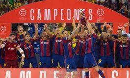 El Barça conquista su quinta Liga tras vencer al Levante en los penaltis