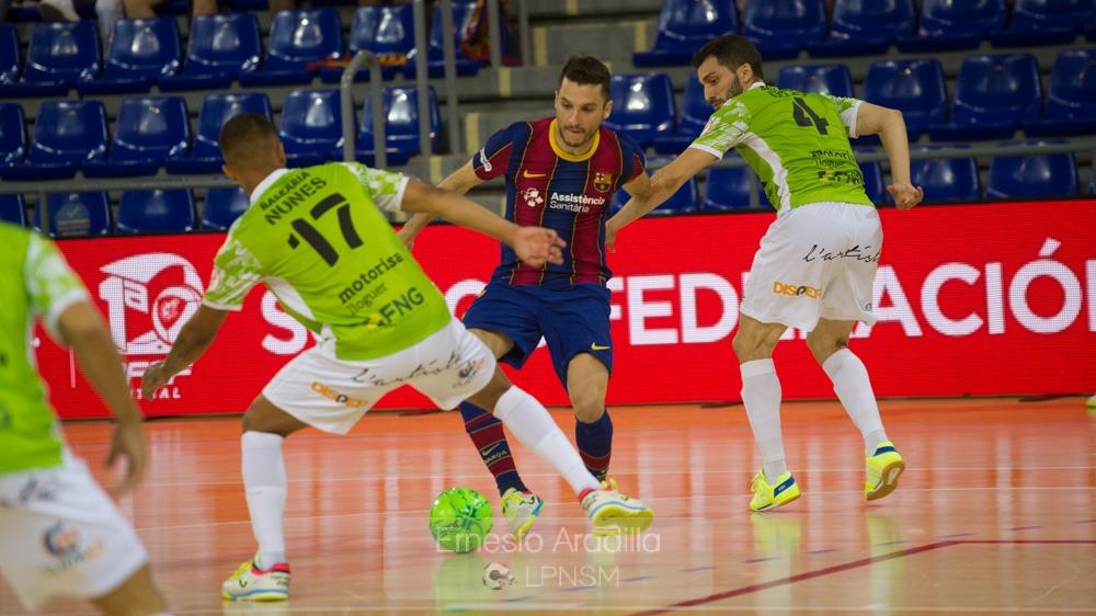 Fotogalería | Barça 6 – 4 Palma Futsal